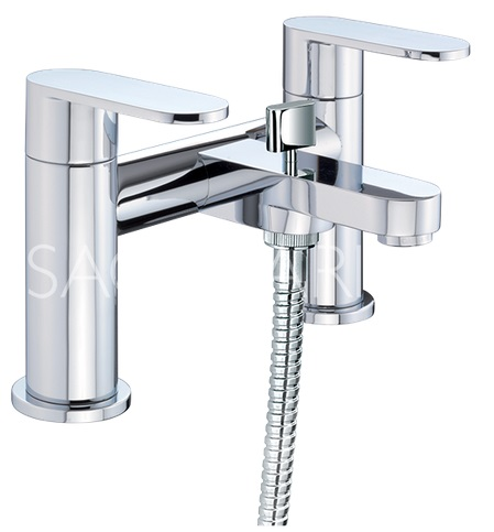 Metro Bath Shower Mixer with Handset and Hose