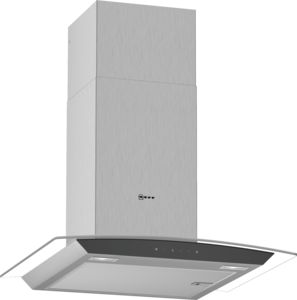 Neff D64AFM1N0B St/St 60cm Curved touch Control Extractor Hood - £457