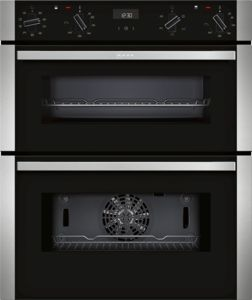 Neff J1ACE2HN0B Black Built-under Double Oven - £790