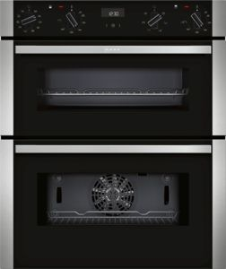 Neff J1ACE4HN0B Black Built-Under Double Oven - £840