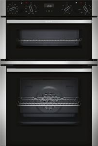 Neff U1ACE5HN0B Black Built-in Double Oven - £824